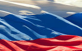 Flag of the Russian — Stock Photo