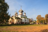 Convent of St. Theodore in the town of Pereslavl-Zalessky — Stock Photo