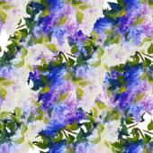 Våren blommor sömlös bakgrund — Stockvektor