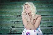 Mooie middelbare leeftijd vrouw — Stockfoto