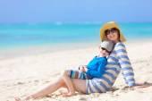 家庭暑假 — 图库照片
