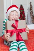 子供のクリスマスに — ストック写真