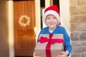 クリスマスの時期に子供します。 — ストック写真