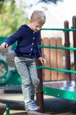Kid at the playground — Stock Photo
