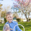 Boy at easter time — Stock Photo #63391859