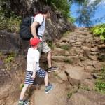 Family hiking — Stock Photo #76940303
