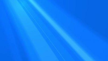 Blue rays (loop, HD, 25 fps) — Vídeo stock