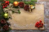 Holiday decoration with paper — Stockfoto