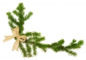 Decoração de Natal isolada — Fotografia Stock