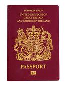 British citizen passport — Stock Photo