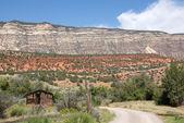 Letiště Yampa říční kaňon v dinosaur national monument — Stock fotografie