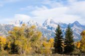 Mountains in Grand Teton National Park — Stock Photo