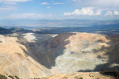 Copper's Bingham Canyon Mine — Stock Photo