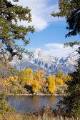 Hösten i bergen. — Stockfoto