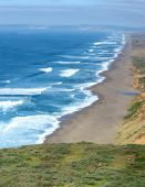 Coast of the Pacific Ocean — Stock Photo