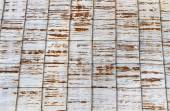 Rusty corrugated iron roof background — Foto Stock