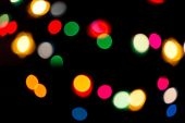Lumières de Noël coloré — Photo