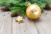 Traditional Christmas decoration — Fotografia Stock