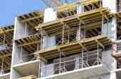 Concrete building under construction — Stock Photo