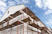 House reconstruction — Stock Photo