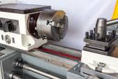 Part of a lathe machine — Stock Photo