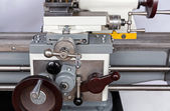 Closeup machining tool — Stock Photo