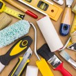 Set of painting tools — Stock Photo #70110045