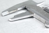 Vernier caliper closeup — Stock Photo