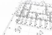 Proyecto arquitectónico — Foto de Stock