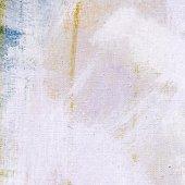 Acrylics paint on canvas — Stock Photo