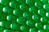 Green led diode display panel — Stock Photo