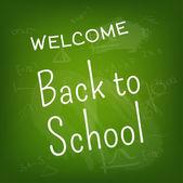 A cartel de escuela — Vector de stock
