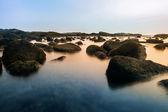 Photo of rocks in the sea. — Stock Photo