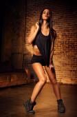 Sexy sports woman — Stock Photo