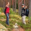 Young tourists couple — Stock Photo #61823471