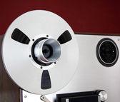 Analog Stereo Open Reel Tape Deck Recorder Spool — Stock Photo