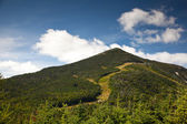Adirondack Whiteface mountain forests trail  landscape — Stock Photo
