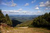 Adirondack mountains forests and lakes landscape  — Stock Photo