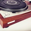 Stereo Turntable Vinyl Record Player Analog Retro Vintage  — Stock Photo #57501727