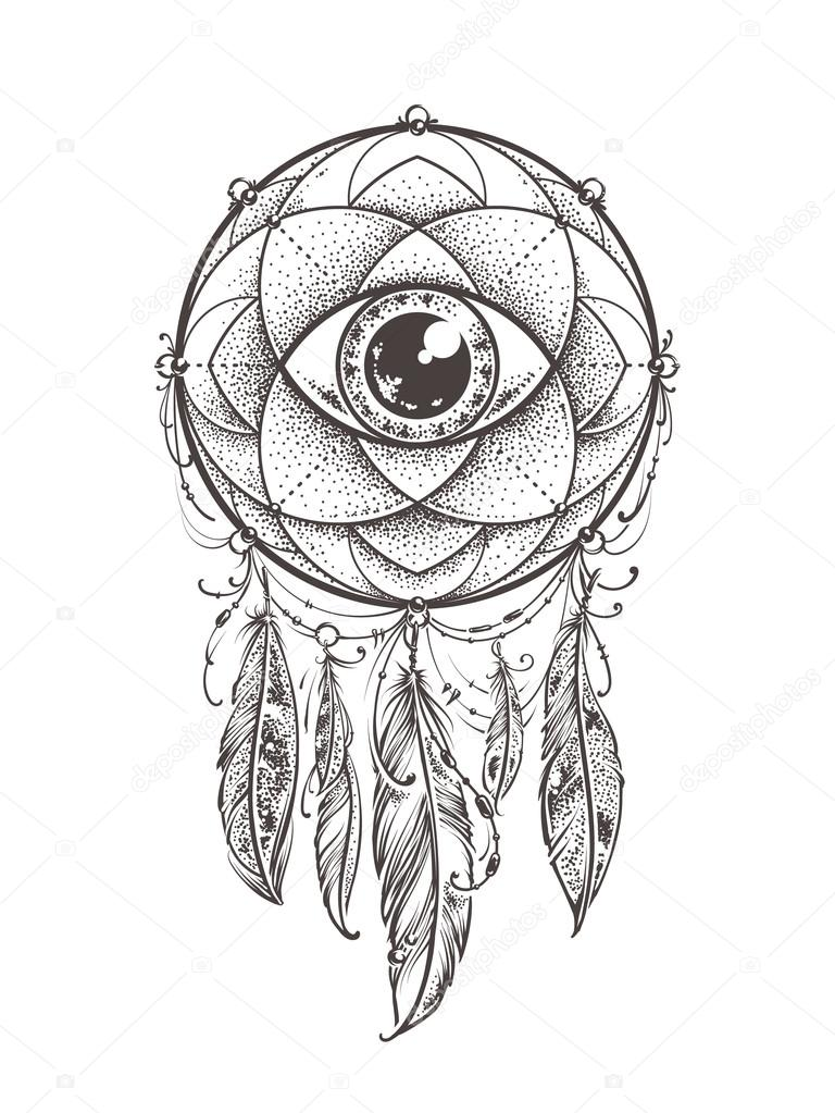 Abstract Dream Catcher Stock Vector 169 Vecster 105348590