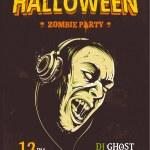 Halloween Party Poster — Stock Vector #55463051