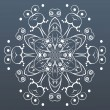 Ornamental round lace. Vector illustration — Vector de stock  #58509345
