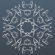 Ornamental round lace. Vector illustration — 图库矢量图片 #58509359