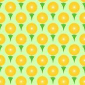 花卉无缝背景设计 — 图库矢量图片