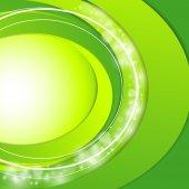 Modern green vector background — Vector de stock