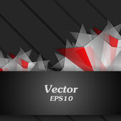 Background with graphic elements — Vector de stock