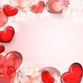 Ljusa alla hjärtans dag — Stockvektor