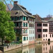 Beautiful old houses in Strasbourg, France — Stock Photo #52247327