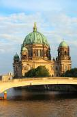 Berlin Cathedral and Spree river — Stock Photo