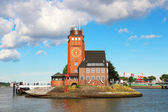 Lotsenhaus Seemannshoft, Hamburg — Stock Photo